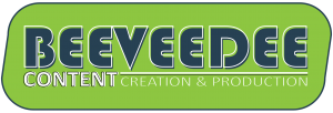 BEEVEEDEE I CONTENT CREATION & PRODUCTION Logo